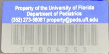 Peds Blue Decal