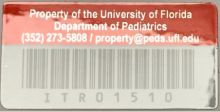Peds Red Decal
